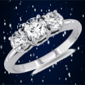snow & ring
